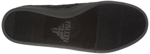 FALLEN Skateboard SHOES THOMAS RISE BLACK/ASH GRAY Size 10