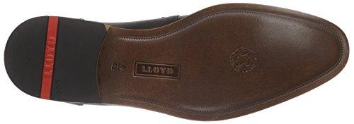 Lloyd Nimes, Zapatos de Cordones Derby para Hombre Negro (Negro 0)