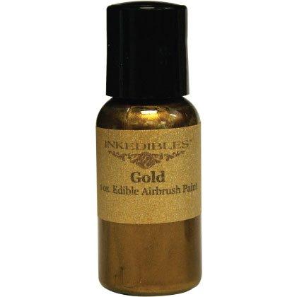 YummyInks TM Brand: Airbrush 60ml Ink - Gold (Ml 60 Printer Ink)