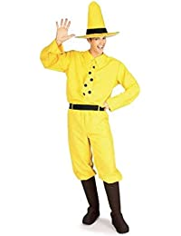 Costume Co - The Man with the Yellow Hat Adult Costume