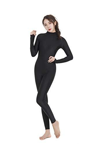 Speerise Adult High Neck Zip One Piece Unitard Full Body Leotard