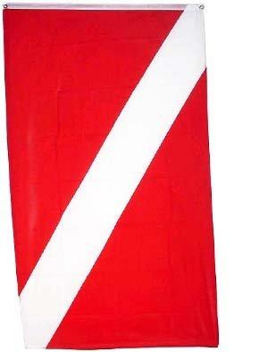 Diver Flag Scuba - New 2x3 PADI Flag Scuba Dive Diving Diver Down Flags