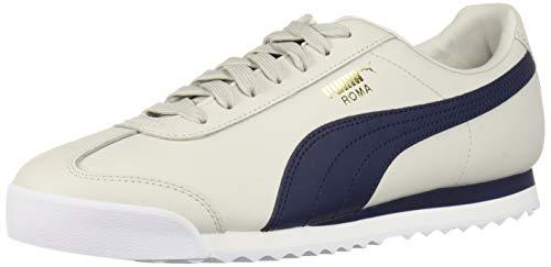 (PUMA Men's Roma Classic VTG Sneaker Glacier Gray-Peacoat 7.5 M US)