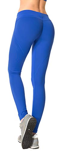 - RUNNING GIRL Butt Lift Leggings Scrunch Butt Push Up Leggings Yoga Pants for Women Shapewear Skinny Workout Tights (RoyalBlue, XXXL)