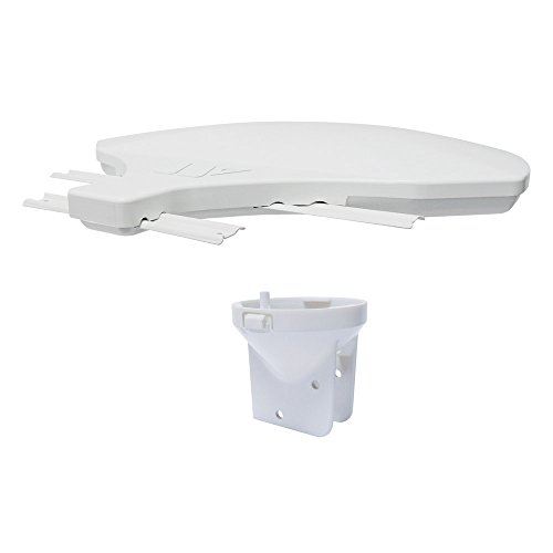 Winegard Rayzar z1 RZ-5000 Retrofit Kit (VHF/UHF HD Amplified RV Antenna, 4K Ready) - White