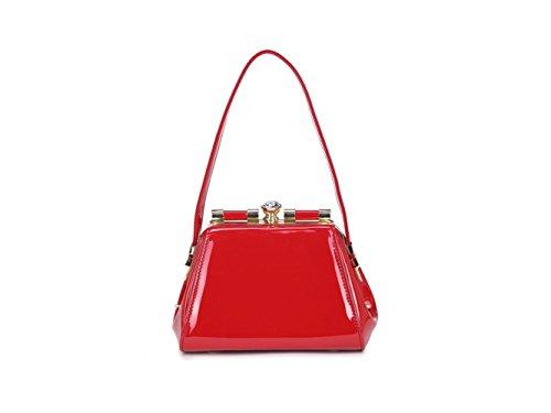 Handbag CWKP9286 Celebrity Cross CWKP9286 Women's Body Body Stunning Bag CWRD150153 Red Cross Quality Patent Designer Tote Fashion Ladies EUqZwOz