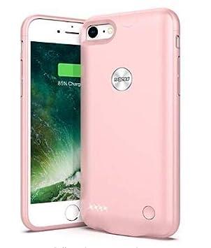 Funda Carcasa Batería Recargable - Batería Cargador Externa para iPhone 7 / 8,Funda Carcasa Batería Recargable - Batería Cargador Externa Ultra Fina ...