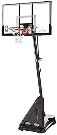 """Spalding NBA Hercules Portable Basketball Hoop - 54"""" Acrylic Back"""