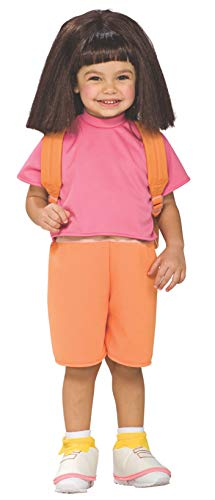 Dora Toddler Costume (Child's Wig Dora the Explorer)