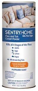 Sergeant's PET 3235 Flea & Tick Carpet Powder