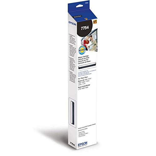 Fita Original Para Impressora Epson 7754 Preta 1050/1070, Epson, 7754, Preto