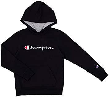 Champion Kids Clothes Sweatshirts Youth Heritage Fleece Pull On Hoody Sweatshirt with Hood