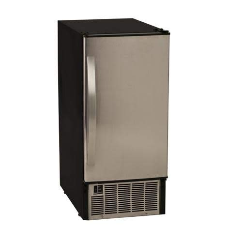 EdgeStar IB450SS 45 Lb. 15 Inch Wide Undercounter Clear Ice Maker -...