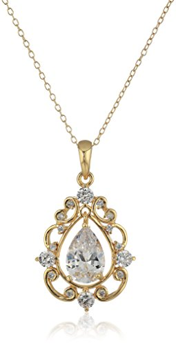 10 Pear Shape Pendant Setting - 1