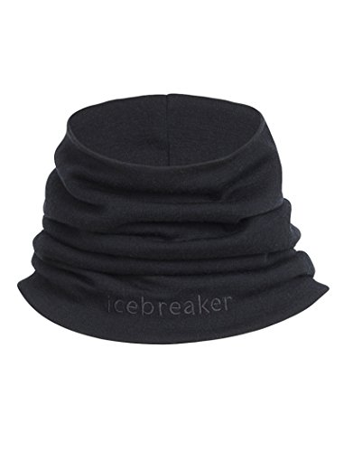 Icebreaker Merino Apex Chute Gaiter, Black, One Size
