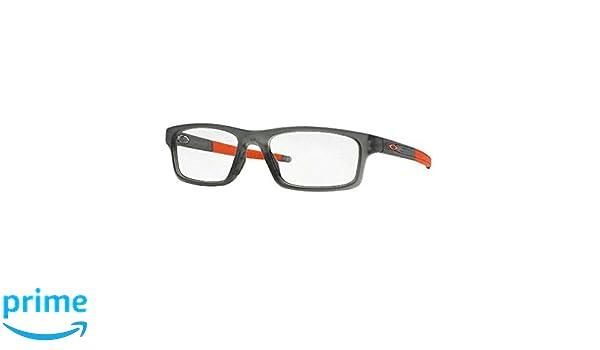45d03214b5 ... low price amazon oakley glasses frames crosslink pitch 8037 06 satin  grey smoke health personal care