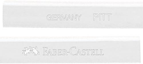 Kreidestift Weiß gebrannt FABER CASTELL 122802 PITT