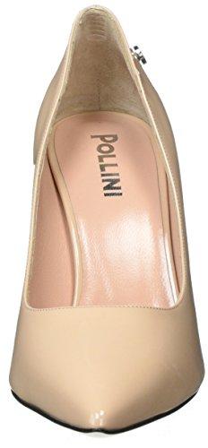 Shoe Pollini Beige con Nude Scarpe 609 Tacco Donna W gwrSw5q1