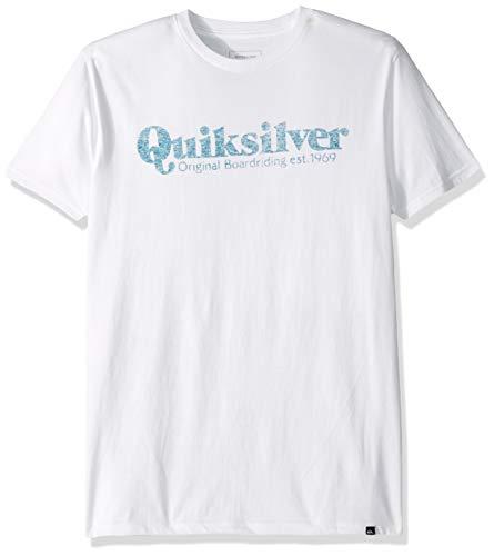 (Quiksilver Men's Twin FIN Mates TEE, White, XL)
