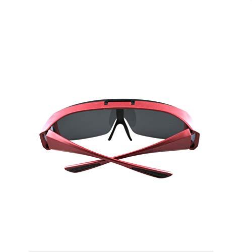 Anti Lunettes Mode Set air Soleil Plein de UV Miroir Soleil Flip polarisant de Lunettes Defect Sport myopie Conduite qAgHwO