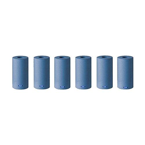 INSIDE SILICONE RING POLISHERS BLUE FINE GRIT PKG OF 6