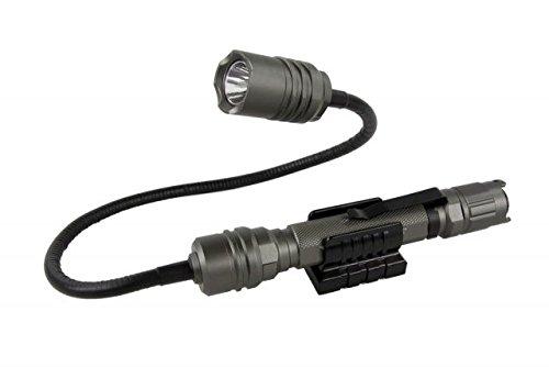 Terralux TLF-PRO4-GRY Professional 4 Flashlight Titanium Grey