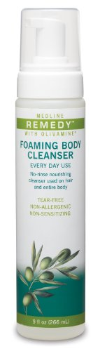 Medline Remedy Olivamine Foaming Cleanser