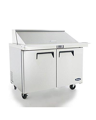 Atosa MSF8307 60″ Mega Top Sandwich Prep Table Two Door Refrigerator 2 Year PARTS + LABOR / 5 Year Compressor WARRANTY