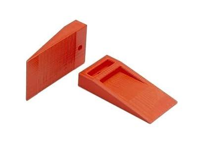 """Tavy 1/4"""" Orange Wedge Spacers (100/bag)"""