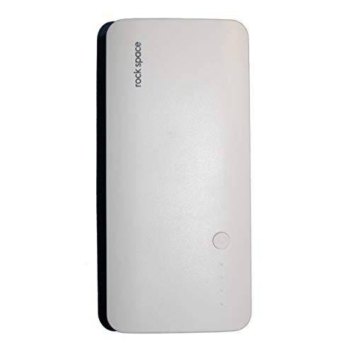 Rock 10000 mAH Power Bank  White  amp; Black