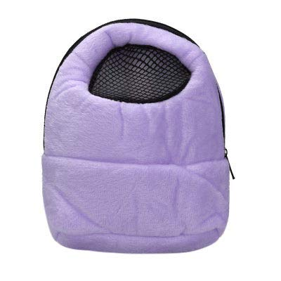 FidgetGear Hamster Rat Hedgehog Chinchilla Ferret Carrier Packet Bag Sleeping Hanging Bag Purple from FidgetGear