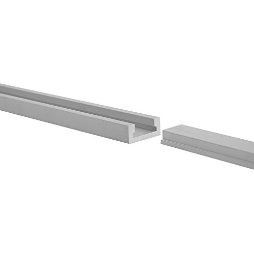 48'' ALUMINUM MITER T-TRACK WITH MITER T- BAR by Peachtree Woodworking - PW1036 by Peachtree Woodworking Supply (Image #7)