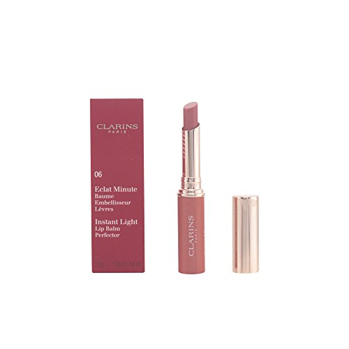 Clarins Clarins Eclat Minute Instant Light Lip Balm Perfector - # 06 Rosewood, 1.8 G/0.06 Ounce, 0.06 Ounce