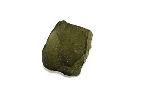 SHIVANSH CREATIONS One (1) Fine Moldavite Tektite from Czech Republic - 5-7 - Down Orb Pendant