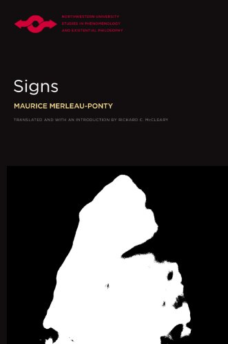 Signs (Studies In Phenomenology And Existential Philosophy)