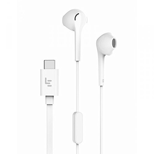 STORITE LeEco USB Type C Ear-In Headphones with Volume Control & Mic,Super Bass For Xiaomi 6,Moto Z/Z Force, Z Series,HTC,Google Pixel 1,2,XL,Nexus,Samsung Note 8,S8,S8 Plus,LG & Type C Interface by Storite (Image #1)