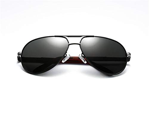 hombres conducción para polarizadas de UV400 gafas de de moda protectoras gafas sol Silver sol Gafas de Los de Huyizhi Guay viajar fEqzAA