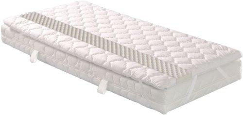 Badenia 03880540143 Bettcomfort Matratzenauflage Senso mit Noppenstruktur, ca. 140 x 200 cm, weiß