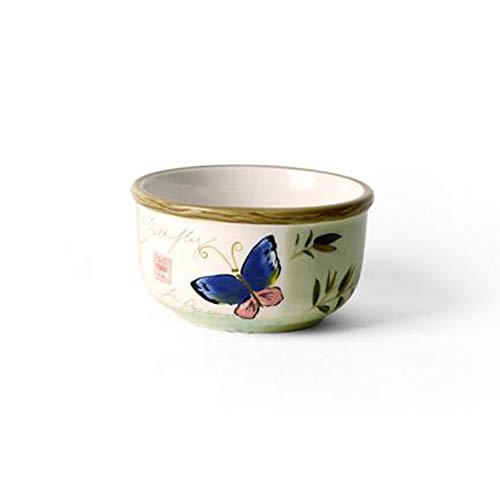 Rice bowl Soup powder bowl, Boutique European style Creative Household Underglaze Hand Painted Ceramic tableware 5 inch,D