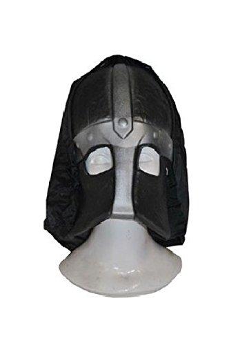 Medieval Knight Helmet Executioner Foam Mask With Hood Costume (Executioner Half Mask)