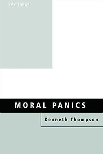 Moral Panics Key Ideas Kenneth Thompson 9780415119771 Amazon