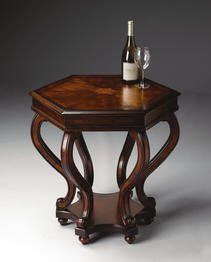 Plantation Cherry End Table - Butler Specialty Accent Table Plantation Cherry Finish - 1560024