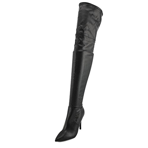 ALDO Womens Asteille Riding Boot Black Synthetic
