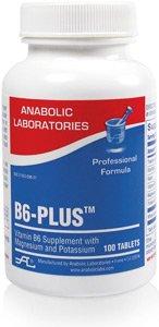 Anabolic Laboratories, B6-Plus B6 Formula, 100 Tablets