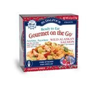 St. Dalfour, Gourmet on the Go, Ready to Eat, Wild Alaskan Salmon, 6 Pack, 6.2 oz (175 g) Each by St. Dalfour