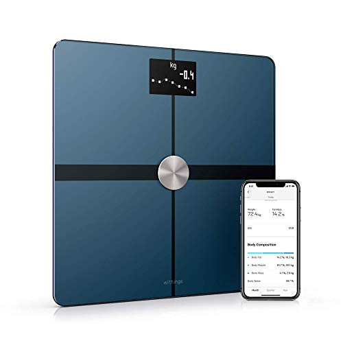 Withings / Nokia   Body+ - Smart Body Composition Wi-Fi Digital Scale with smartphone app, Black (Renewed)