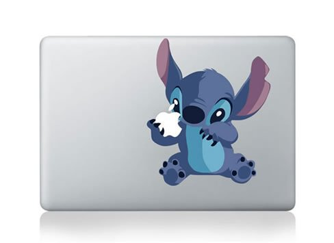Furivy Stitch Macbook Retina Sticker product image