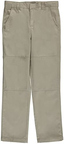 French Toast Big Boys Paneled Cell-Pocket Straight Fit Pants