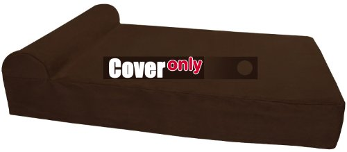 Replacement Cover for Big Barker Headrest Edition – Large – Chocolate For Sale