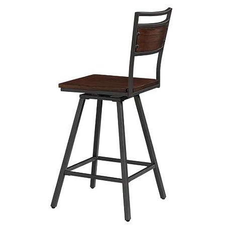 Awe Inspiring Amazon Com American Woodcrafters Tolar Swivel Counter Stool Inzonedesignstudio Interior Chair Design Inzonedesignstudiocom